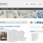 zeeDisplay WordPress theme